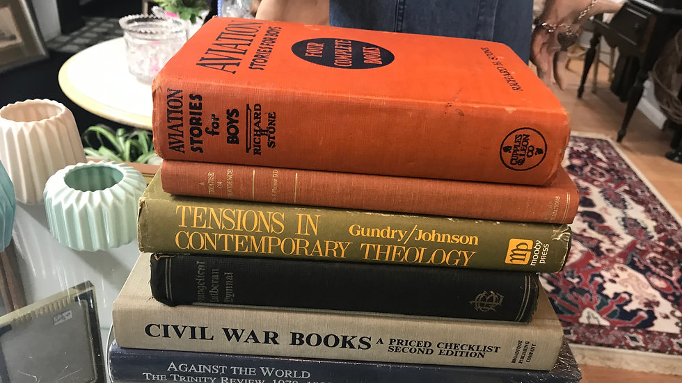 Old Antique Books
