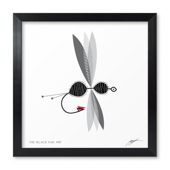 The Black Fur Ant