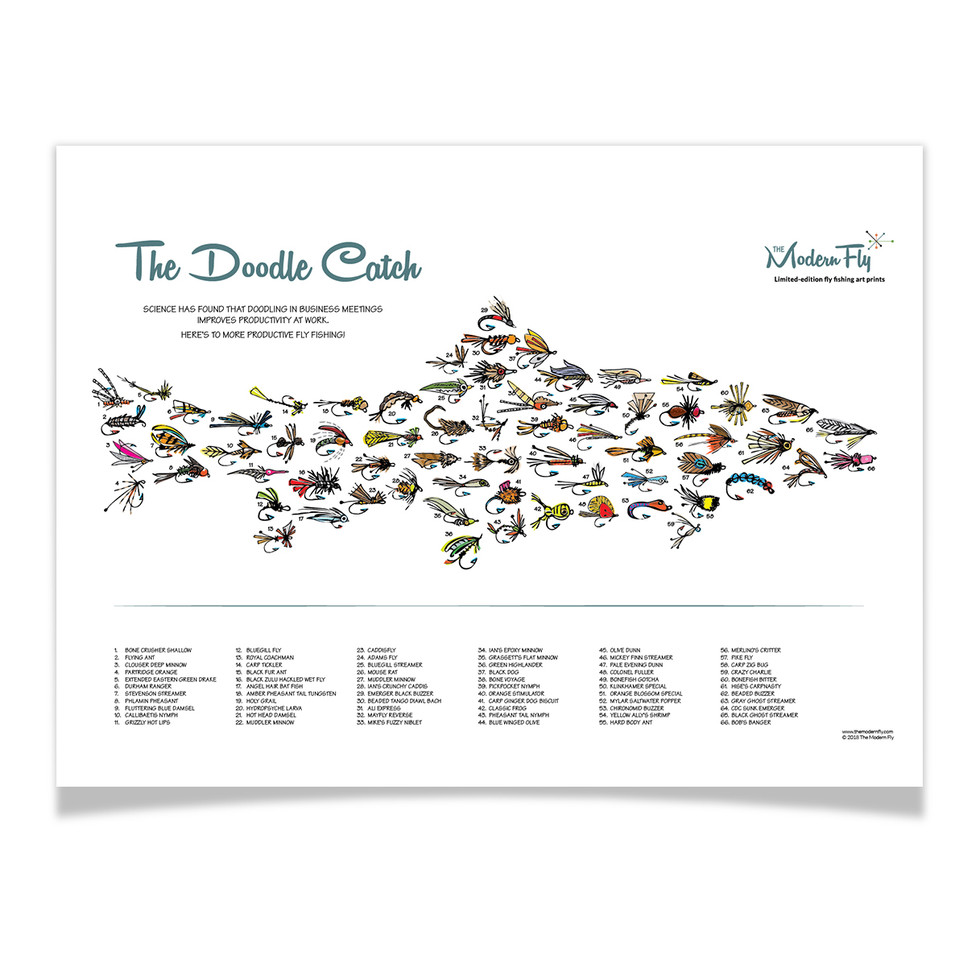 The Doodle Catch Poster