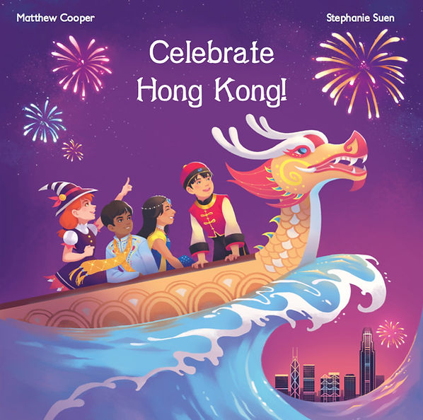 Celebrate Hong Kong book cover