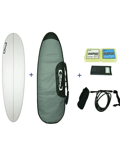 Billow Epoxy Mini-mal Surfboard Pack Deal