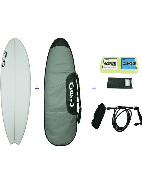 Billow Epoxy Fish Surfboard Pack Deal