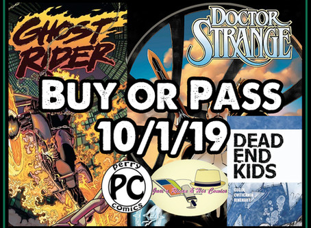 Epd. 30 Buy Or Pass On New Comics Book Day 10/1/2019