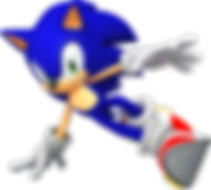 Sonic the hedgehog jumping depicting a game design using scratch coding