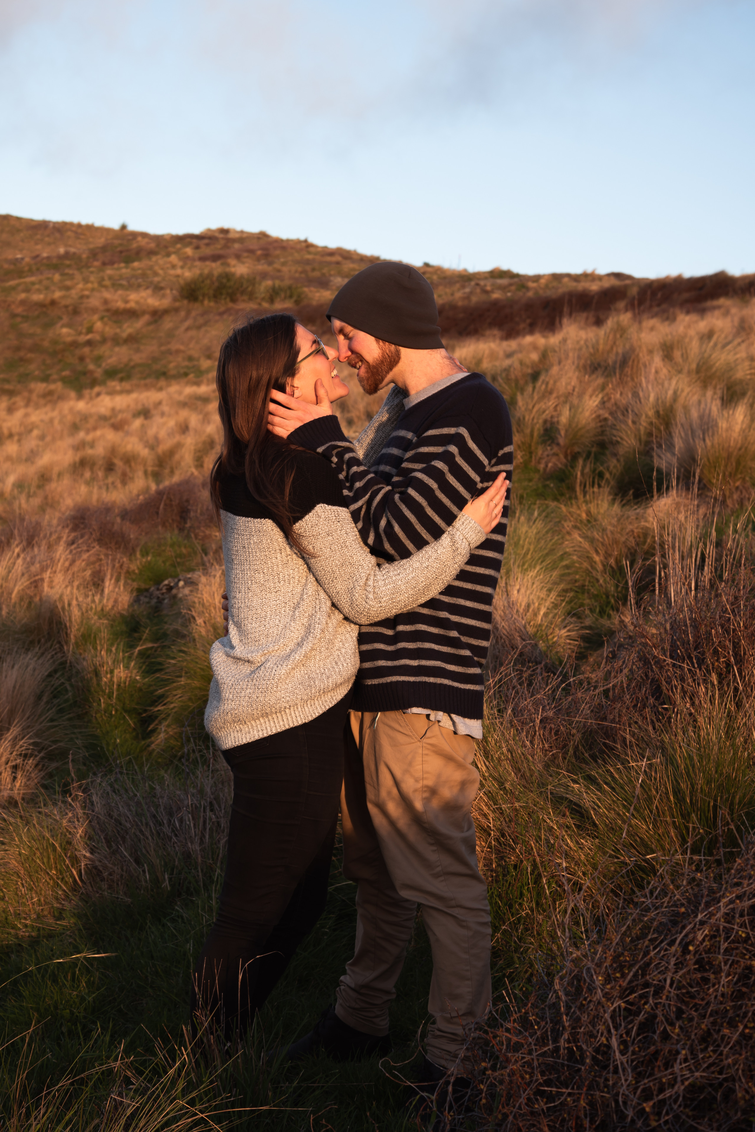 couples photoshoot port hills christchurch