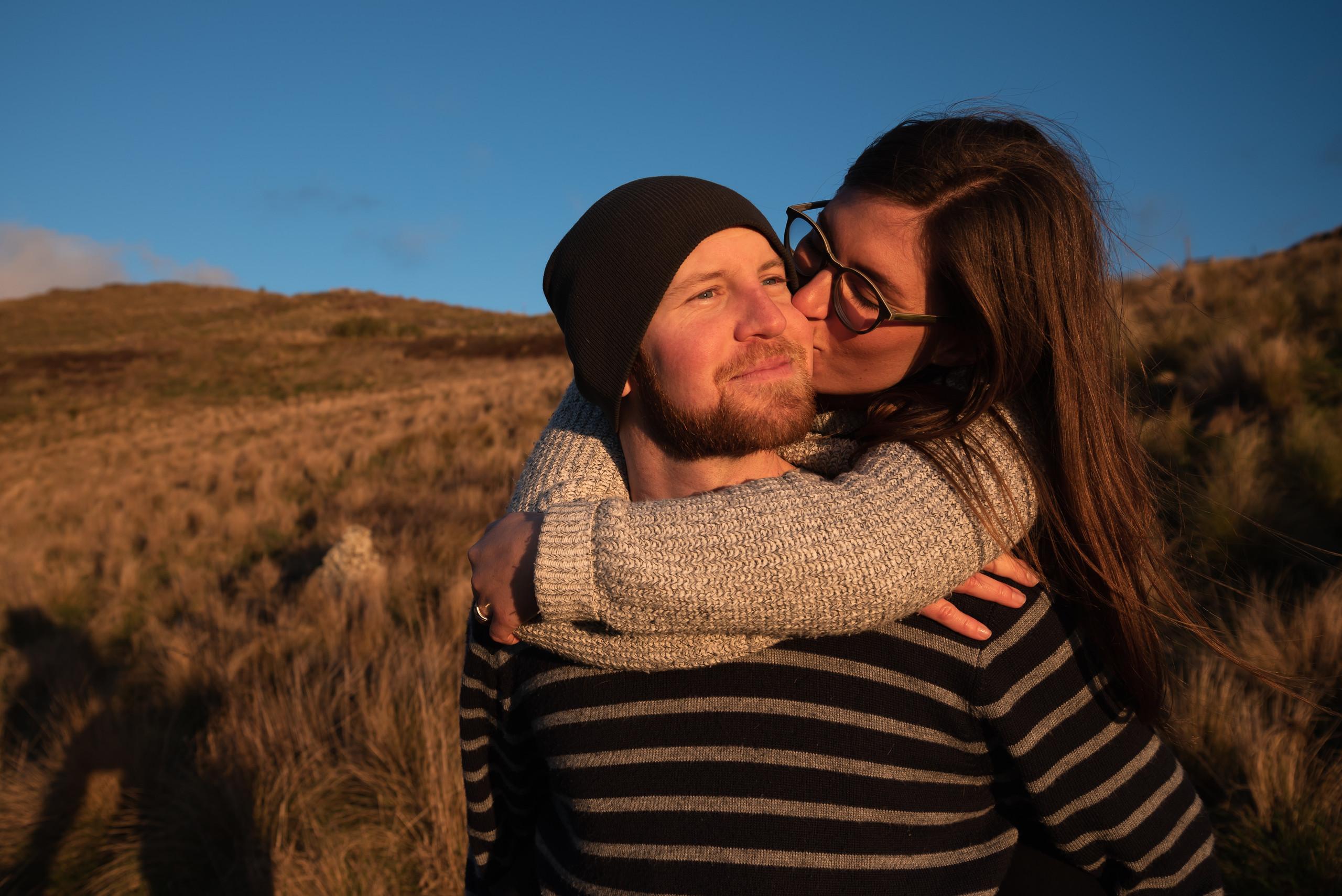 port hills christchurch couples photography