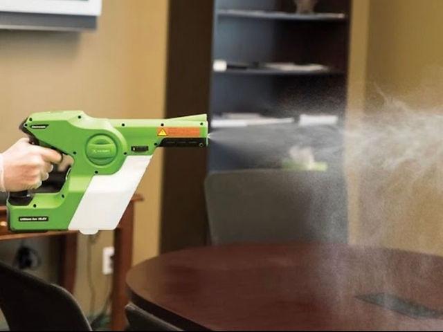 Electrostatic spraying