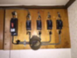 漏電遮断器未設置