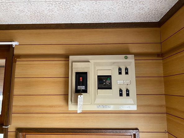 エアコン分電盤空きがない
