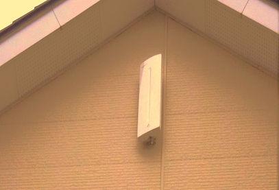 テレビアンテナ(地上波デジタル)壁面アンテナ取付 札幌市豊平区 太内田電設