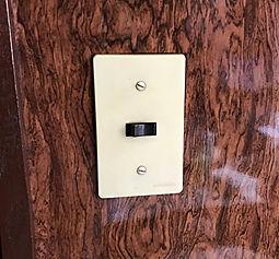 壁スイッチ交換
