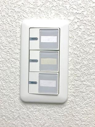 電気のスイッチ故障修理