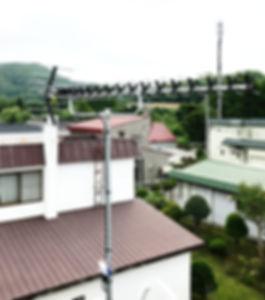 札幌市南区藤野地デジアンテナ工事