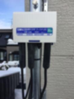UHFブースタ修理交換工事