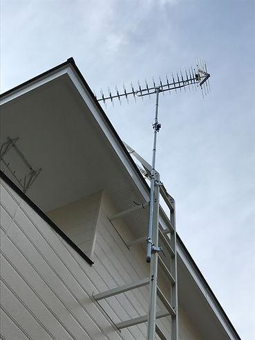 テレビアンテナ修理札幌市南区