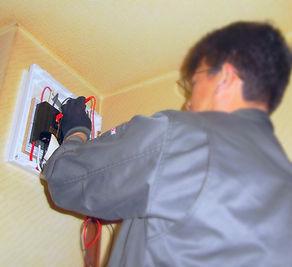 札幌停電修理工事