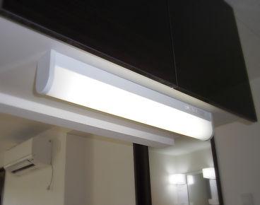 キッチンライト流し元照明交換工事
