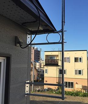 札幌市豊平区テレビアンテナ工事