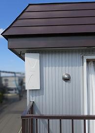 平面アンテナ取り付け工事・札幌市手稲区