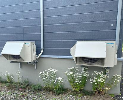 寒冷地仕様エアコン設置工事