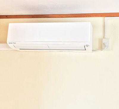 エアコン取り付け工事、札幌市厚別区