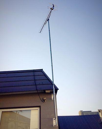 札幌テレビアンテナ交換工事