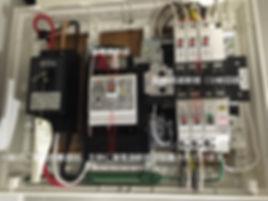 漏電遮断器設置分電盤