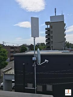 札幌市白石区アンテナ工事