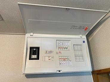 エアコン電気工事分電盤交換・札幌