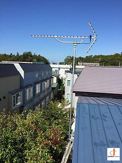 札幌市厚別区アンテナ工事