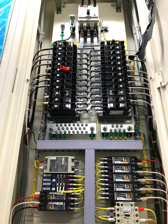 分電盤接続工事
