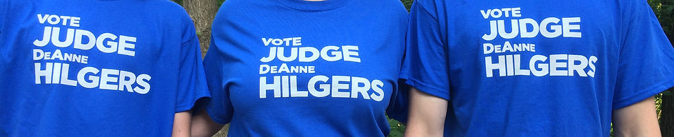 Vote Judge DeAnne Hilgers on Tuesday, Nov. 6, 2018