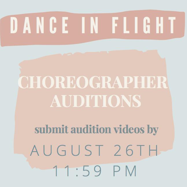 Dance in Flight Choreographer Auditions