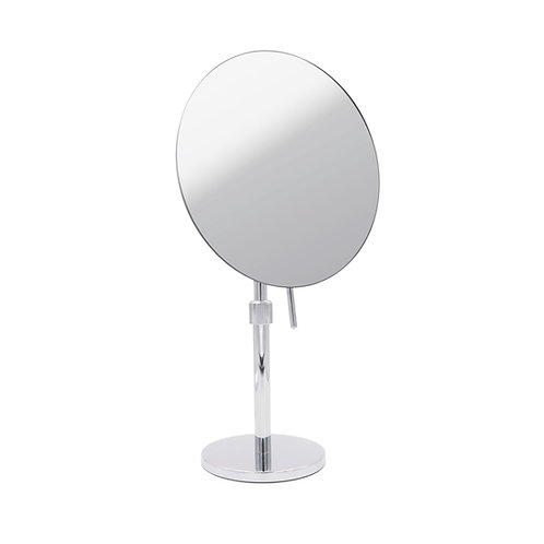Variable Height Rounded Cosmetic Mirror