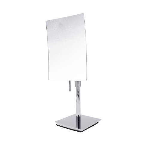 Variable Height Rectangular Cosmetic Mirror