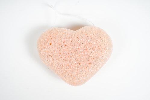 Konjac Sponge Heart Shape