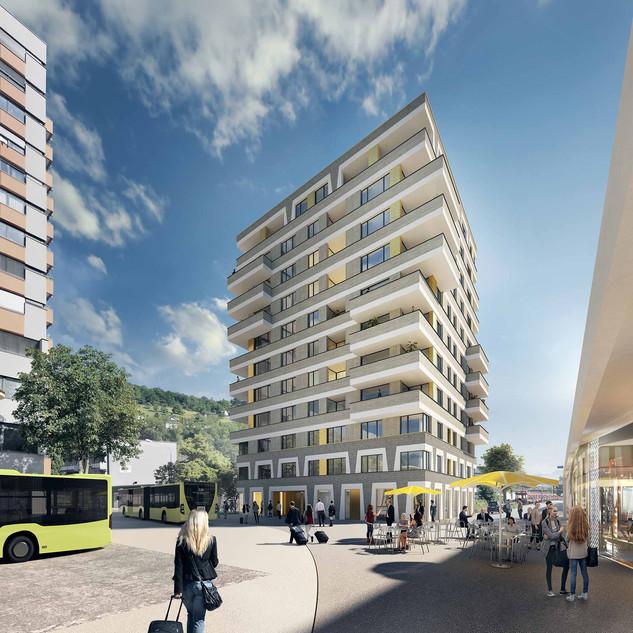 Bahnhofcity Feldkirch | Rendering