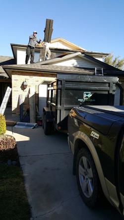 Roofing Scraps