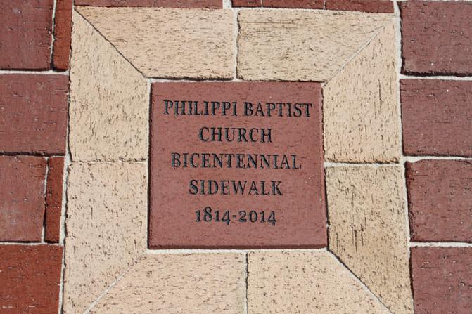Bicentennial Sidewalk Dedication