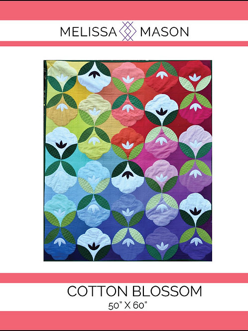 Cotton Blossom Quilt Pattern