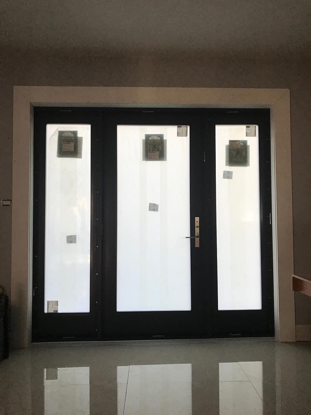 Impact window and doors.