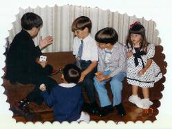 John the Magician at age 5