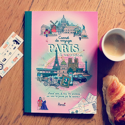 Carnet de voyages Paris
