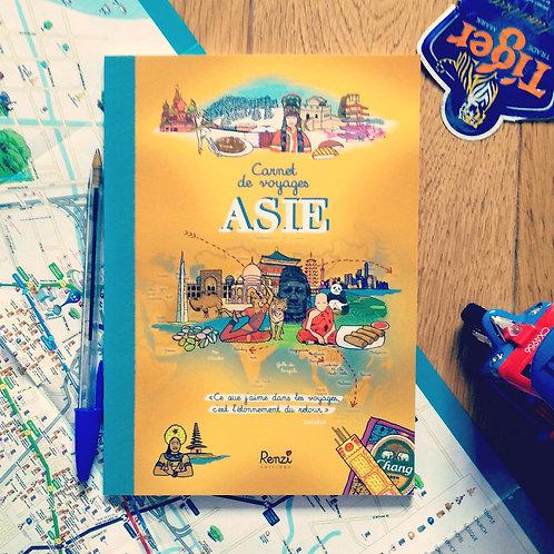 Carnet de voyages Asie