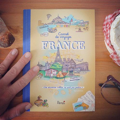 Carnet de voyages France