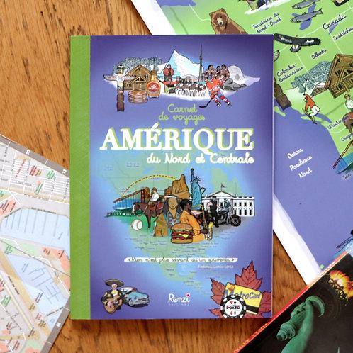 Carnet de voyages Amérique du Nord et Centrale