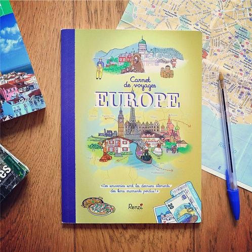 Carnet de voyages Europe