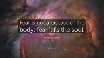 Да се страхуваш: повече от живота отколкото от смъртта