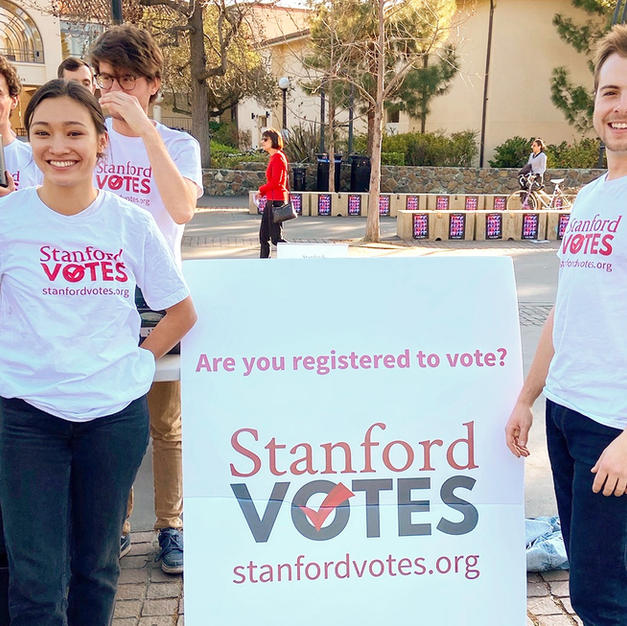 Voting accessibility, engagement increase under new StanfordVotes initiatives