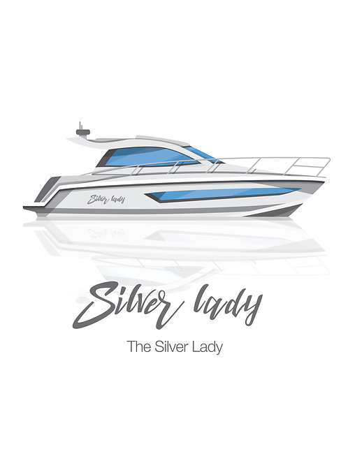 CUSTOM - Have your Boat illustrated